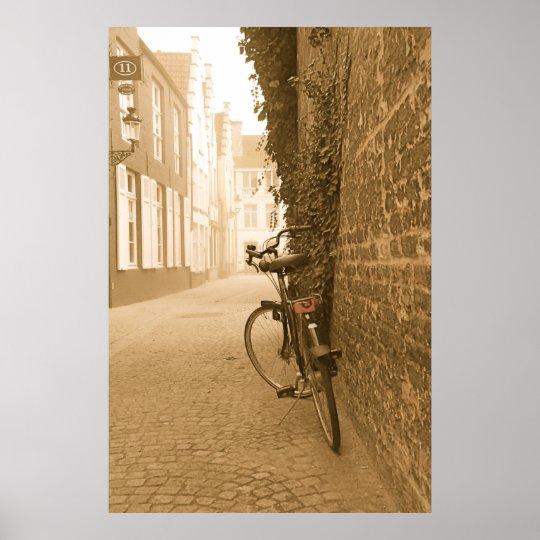 Bike in Belgium Poster