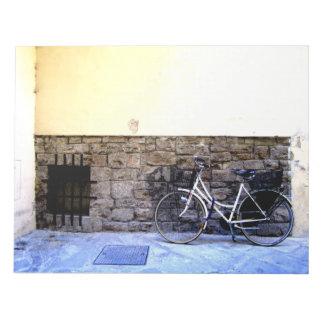 Bike in Italy Notepad