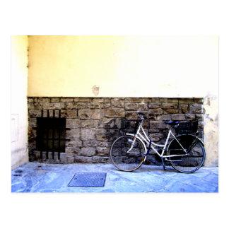 Bike in Italy Postcard