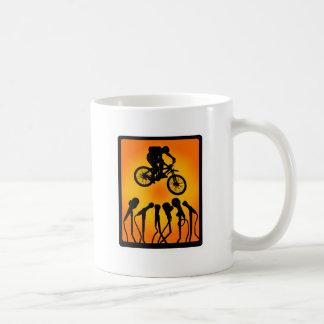 Bike in Zion Coffee Mugs