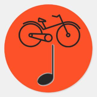 Bike IPA Classic Round Sticker