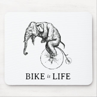 Bike is Life Mouse Pad