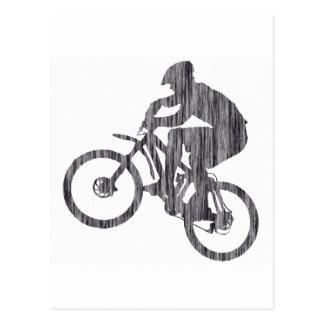 Bike Jimi Hazy Postcard