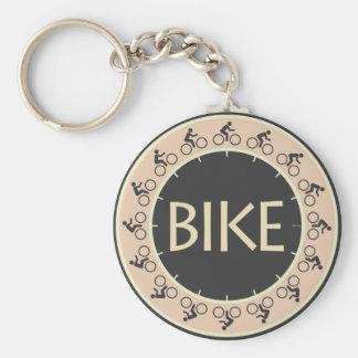 Bike Key Chain