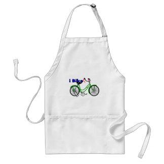 Bike la bici del dibujo 1950 (de la bicicleta) delantal