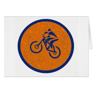 Bike Left Turn Card