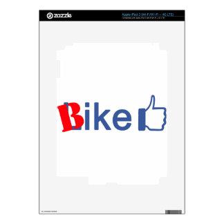 Bike Like iPad 3 Skin