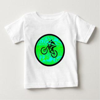 Bike Lime Funky Baby T-Shirt