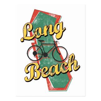 Bike Long Beach Bicycle California Postcard