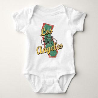 Bike Los Angeles Bicycle California Baby Bodysuit