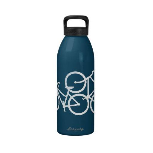 Bike Love Bottle Drinking Bottle