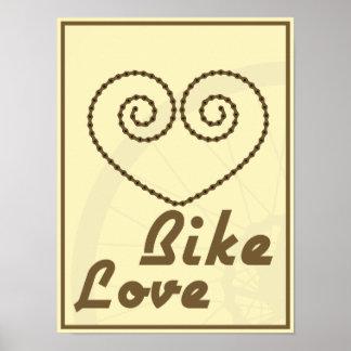 Bike Love Poster