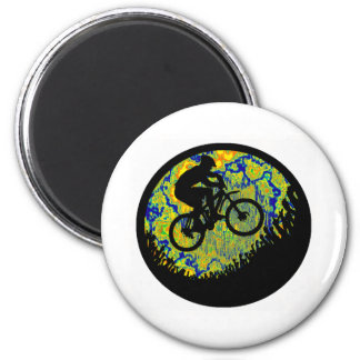 Bike Mad Skilled 2 Inch Round Magnet