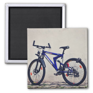 Bike 2 Inch Square Magnet