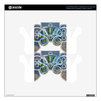Bike Mandala PS3 Controller Skin