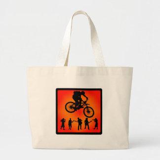Bike más movimientos bolsa lienzo