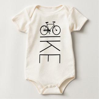 BIKE MENS BICYCLE BABY BODYSUIT