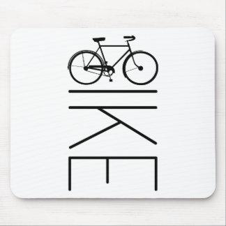 BIKE MENS BICYCLE MOUSE PAD