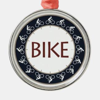 Bike Metal Ornament