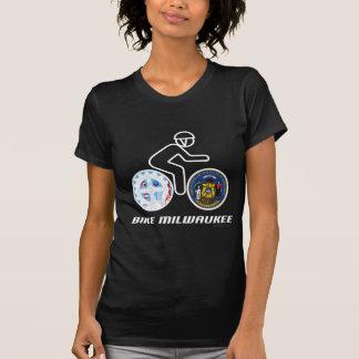 Bike Milwaukee ladies' petite t-shirt