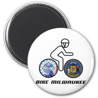 Bike Milwaukee Magnet