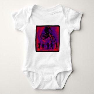 Bike Mind Powers Baby Bodysuit