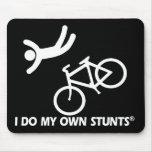 Bike mis propios trucos alfombrillas de ratones