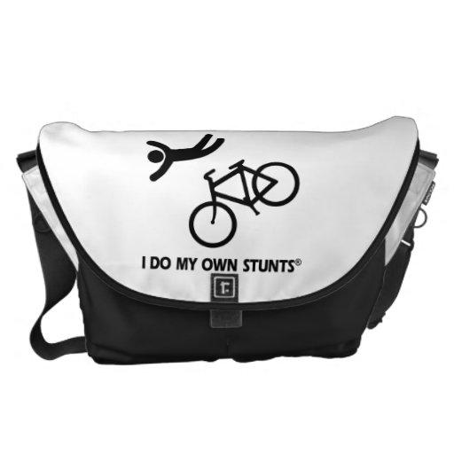 Bike mis propios trucos bolsa messenger