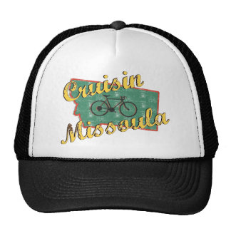 Bike Missoula Bicycle Montana Trucker Hat