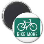 Bike More Fridge Magnets