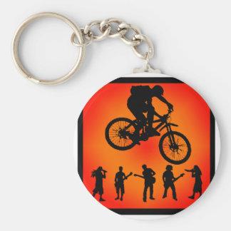 Bike More Moves Keychain