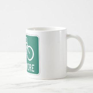 Bike More Classic White Coffee Mug