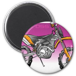 bike motorcross  offroad magnet