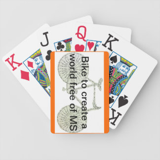 Bike MS Playing Cards
