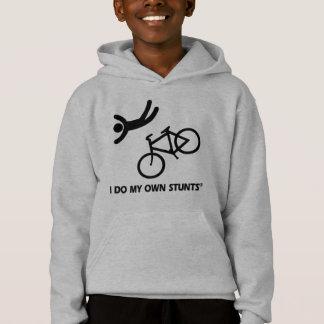 Bike My Own Stunts Hoodie
