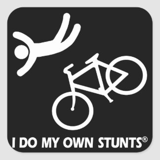 Bike My Own Stunts Sticker