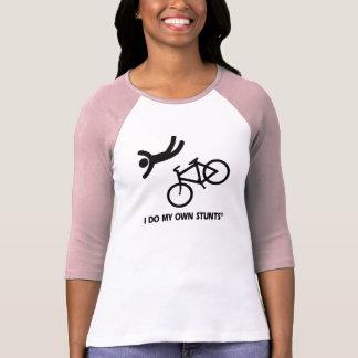 Bike My Own Stunts T Shirt