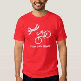 Bike My Own Stunts Tshirts