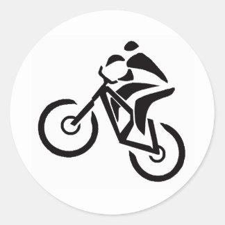Bike Near Patagonia Classic Round Sticker