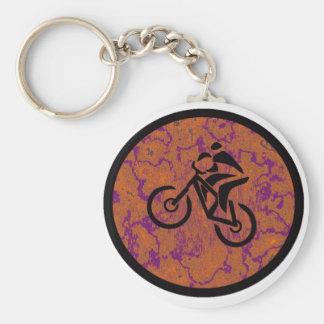 Bike New Deal Basic Round Button Keychain
