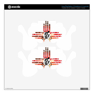 Bike New Mexico PS3 Controller Decal