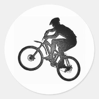 Bike New Offer Classic Round Sticker