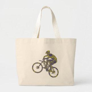 Bike New Territory Tote Bags