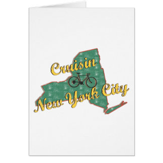 Bike New York City Greeting Cards