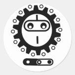 bike ninja Icon Sticker
