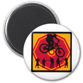Bike No Changing 2 Inch Round Magnet
