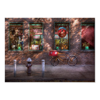 Bike - NY - Chelsea - The delivery bike Card