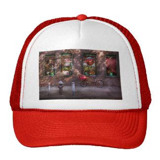 Bike - NY - Chelsea - The delivery bike Trucker Hat