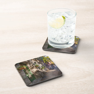 Bike - NY - Greenwich Village - The green district Drink Coaster