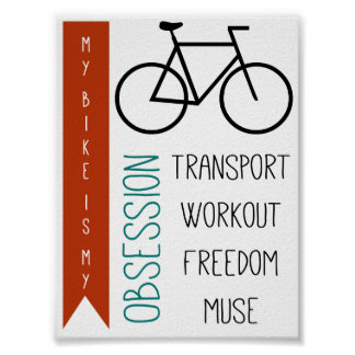 bike obsession posters